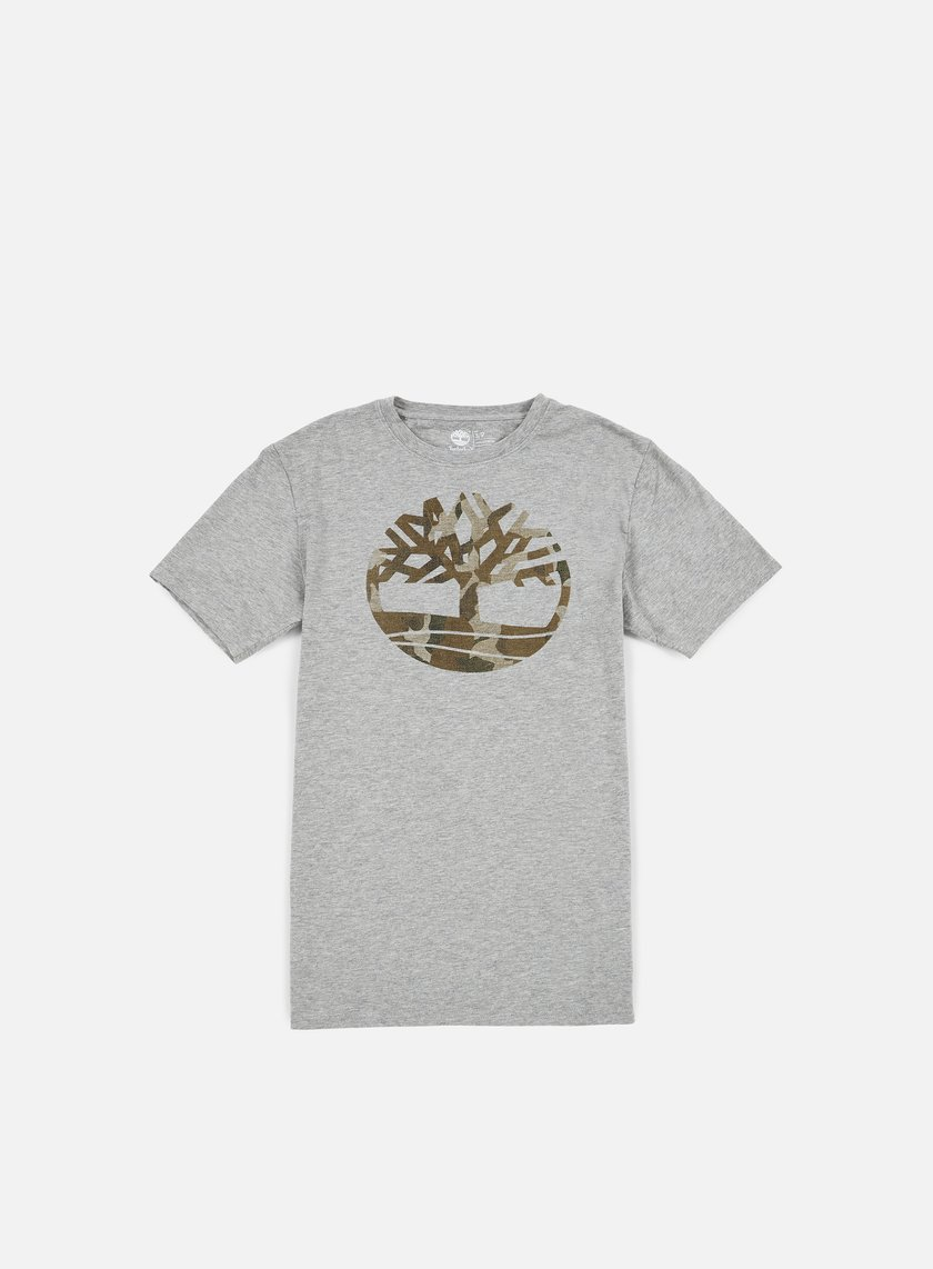 Timberland - Kennebec River Camo Tree T-shirt, Medium Grey