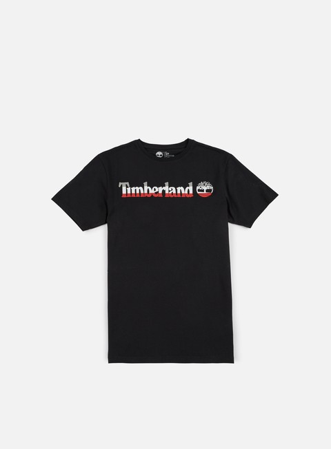 t shirt timberland kennebec river logo t shirt black