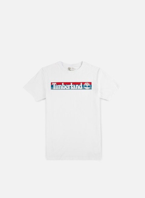 t shirt timberland kennebec river logo t shirt white