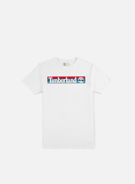 Timberland - Kennebec River Logo T-shirt, White