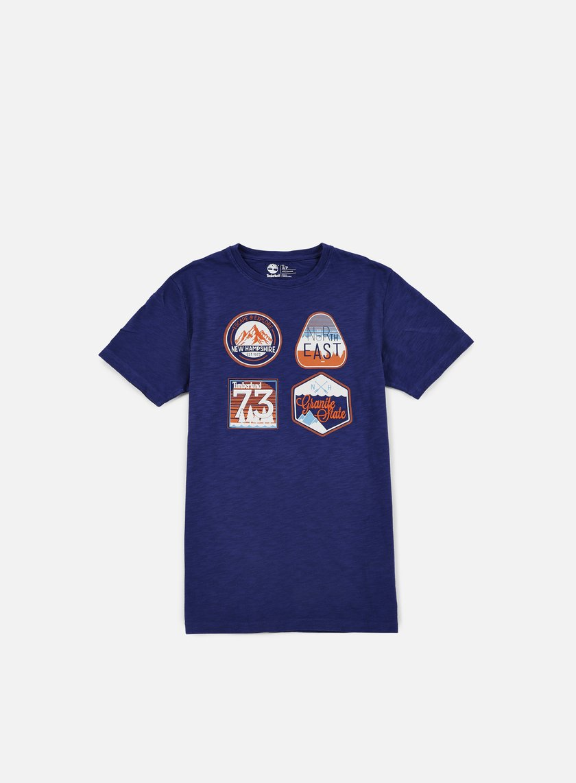 Timberland - Multigraphic Heritage T-shirt, Blue Print