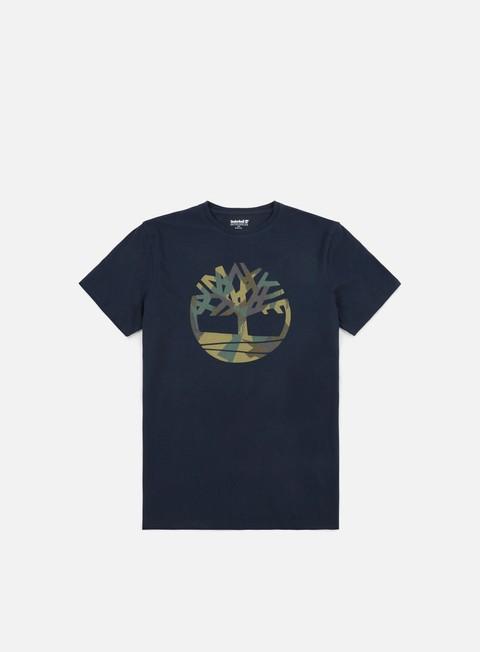t shirt timberland pattern tree t shirt dark sapphire