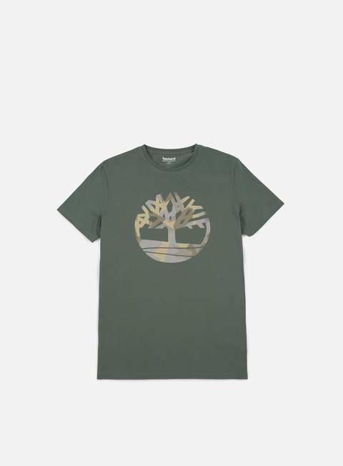 t shirt timberland pattern tree t shirt duck green