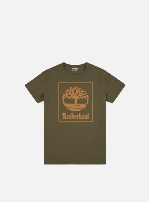Sale Outlet Short Sleeve T-shirts Timberland Seasonal Logo T-shirt