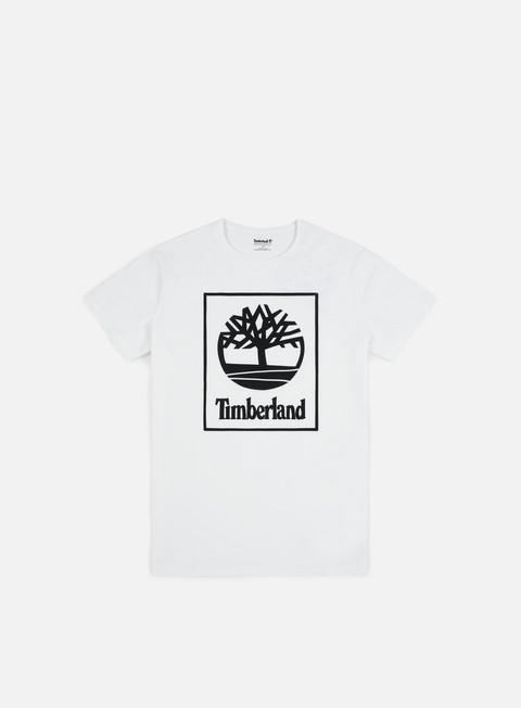 t shirt timberland seasonal logo t shirt white