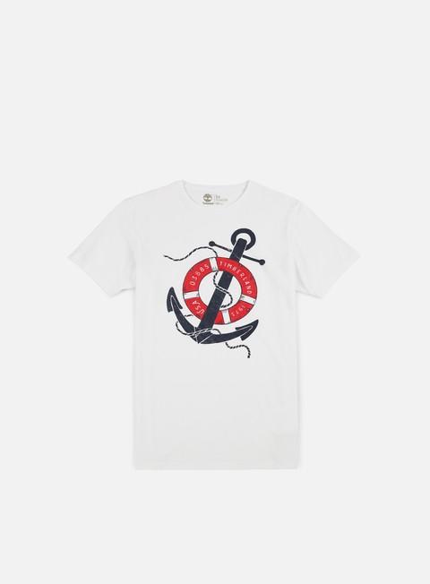 Outlet e Saldi T-shirt a Manica Corta Timberland Vintage Nautica T-shirt