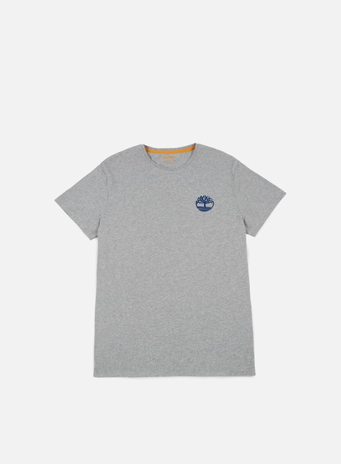 t shirt timberland with stacked t shirt medium grey heather