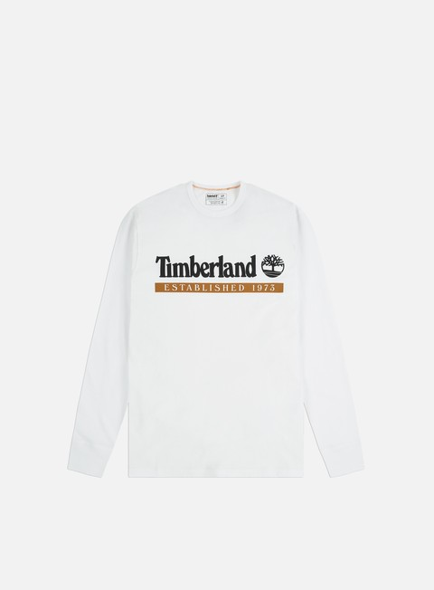 Long Sleeve T-shirts Timberland YC Established 1973 LS T-shirt