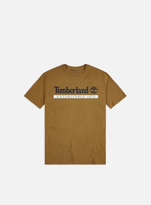 Outlet e Saldi T-shirt a Manica Corta Timberland YC Established 1973 T-shirt