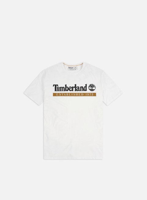 Short Sleeve T-shirts Timberland YC Established 1973 T-shirt