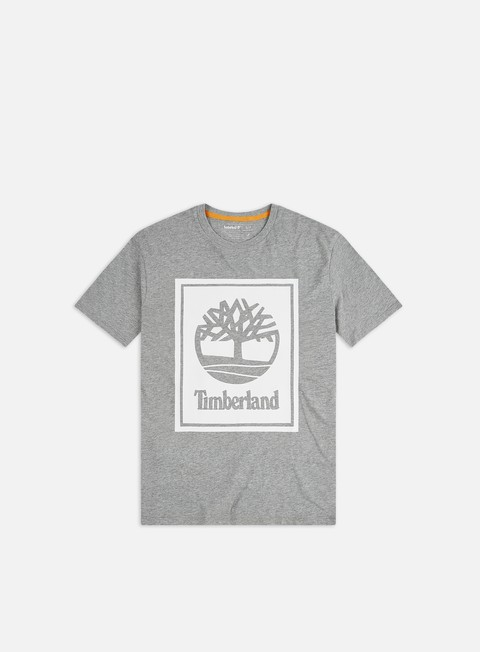 Outlet e Saldi T-shirt a Manica Corta Timberland YC Stack Logo T-shirt