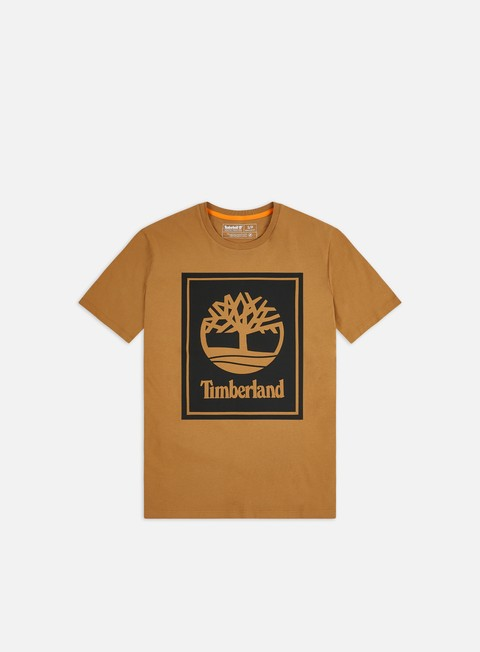 T-shirt a Manica Corta Timberland YC Stack Logo T-shirt