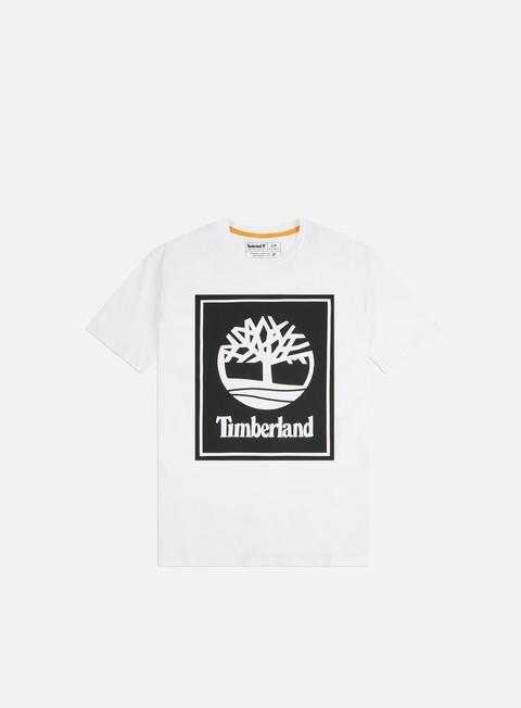 Short Sleeve T-shirts Timberland YC Stack Logo T-shirt