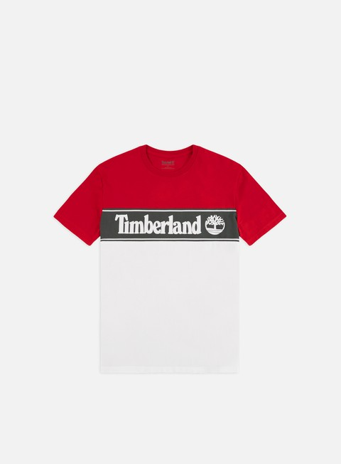 Outlet e Saldi T-shirt a Manica Corta Timberland YCC Cut & Sew Lin Logo T-shirt