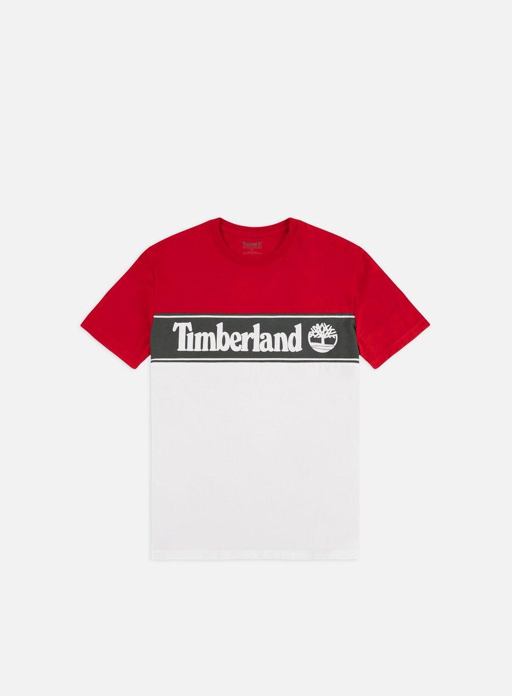 Timberland YCC Cut & Sew Lin Logo T-shirt
