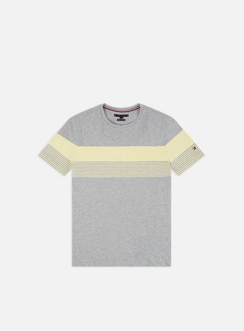 Outlet e Saldi T-shirt a Manica Corta Tommy Hilfiger Block Stripe T-shirt