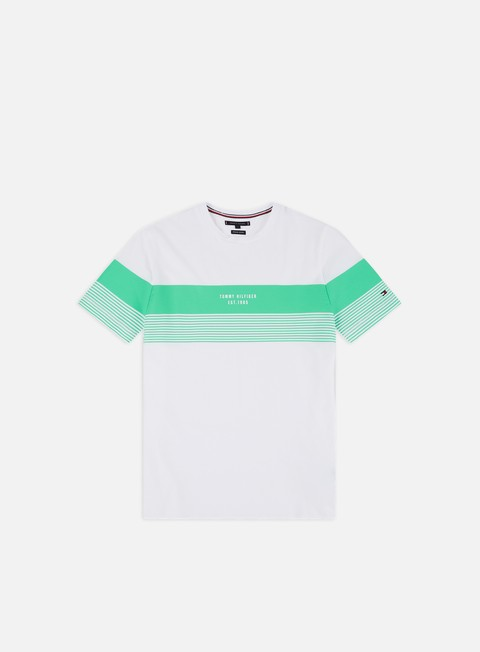 fa8dc113d Short Sleeve T-shirts Tommy Hilfiger Block Stripe T-shirt