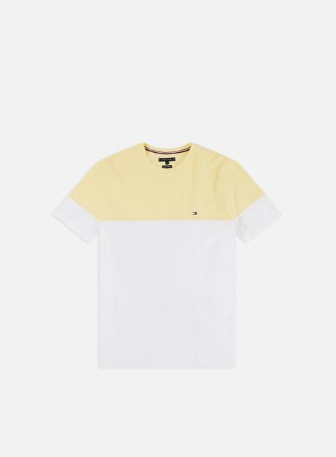 Outlet e Saldi T-shirt a Manica Corta Tommy Hilfiger Colour Block T-shirt