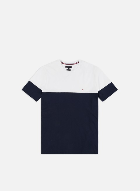 Outlet e Saldi T-shirt a Manica Corta Tommy Hilfiger Colour Block T-shirt