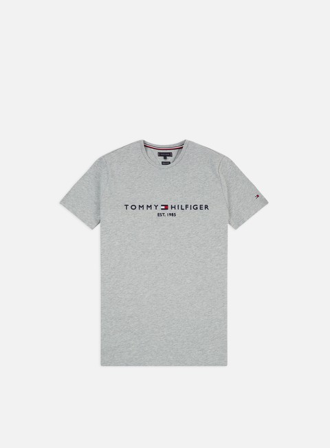Sale Outlet Short Sleeve T-shirts Tommy Hilfiger Core Tommy Logo T-shirt