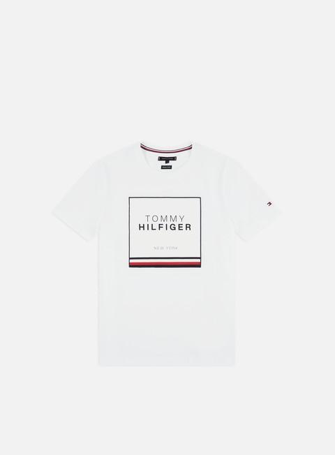 Outlet e Saldi T-shirt Logo Tommy Hilfiger Corp Applique T-shirt