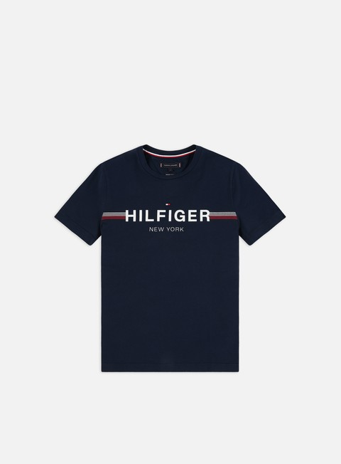 Sale Outlet Short Sleeve T-shirts Tommy Hilfiger Corp Flag T-shirt