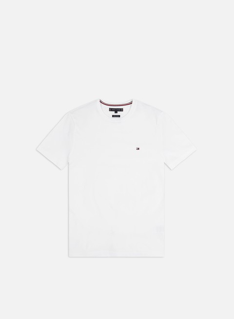 Outlet e Saldi T-shirt a Manica Corta Tommy Hilfiger Essential Cotton Check T-shirt