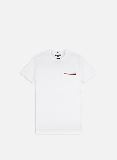 T-shirt a Manica Corta Tommy Hilfiger RWB Pocket Flex T-shirt
