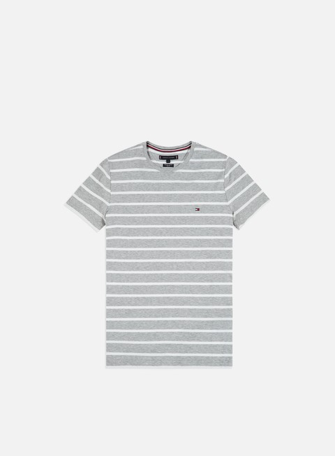 Outlet e Saldi T-shirt a Manica Corta Tommy Hilfiger Stretch Slim Fit T-shirt