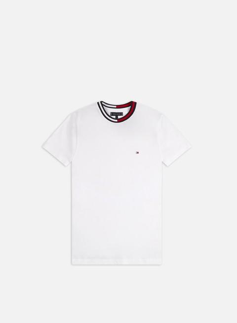 Outlet e Saldi T-shirt a Manica Corta Tommy Hilfiger TH Cool Flag Collar T-shirt