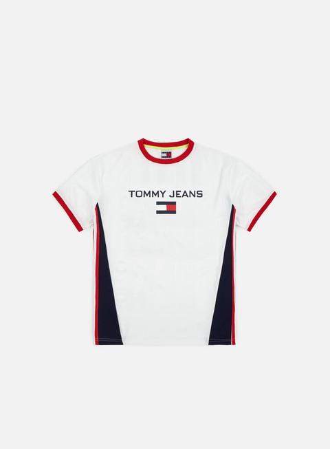 t shirt tommy hilfiger tj 90 soccer t shirt bright white