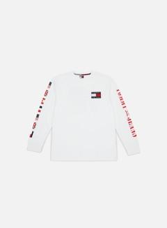 Tommy Hilfiger - TJ 90s CN LS T-shirt, Bright White