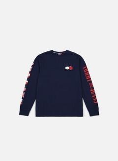 Tommy Hilfiger - TJ 90s CN LS T-shirt, Peacoat 1