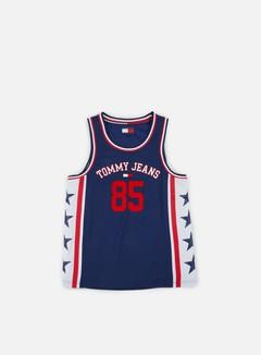Canotte da Basket Tommy Hilfiger TJ 90s Mesh Vest 7836442e97fe