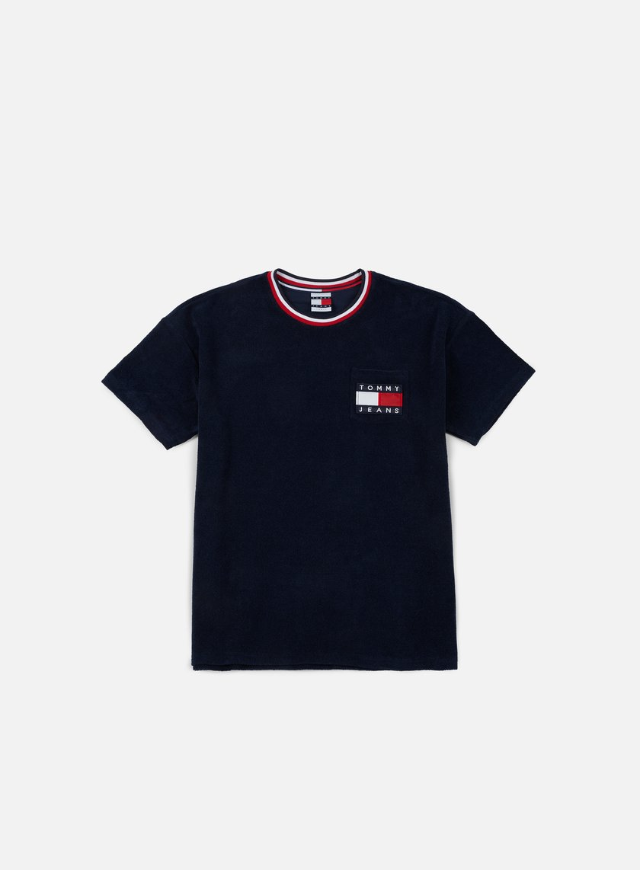 Tommy Hilfiger - TJ 90s Towelling T-shirt, Medieval Blue