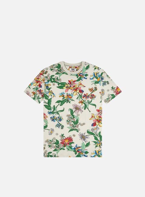 T-shirt a Manica Corta Tommy Hilfiger TJ Allover Print T-shirt