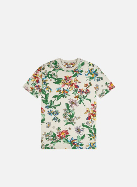 Outlet e Saldi T-shirt a Manica Corta Tommy Hilfiger TJ Allover Print T-shirt