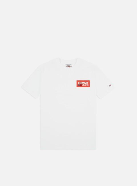 Sale Outlet Short Sleeve T-shirts Tommy Hilfiger TJ Back Multilogos T-shirt