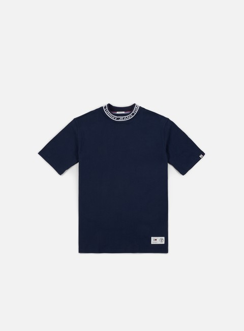 Outlet e Saldi T-shirt a Manica Corta Tommy Hilfiger TJ Band Collar T-shirt