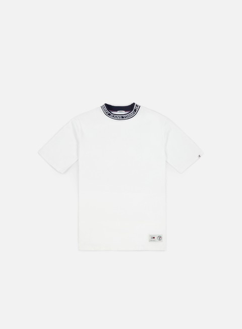 t shirt tommy hilfiger tj band collar t shirt classic white