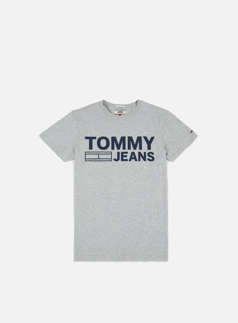 t shirt tommy hilfiger tj basic t shirt light grey heather