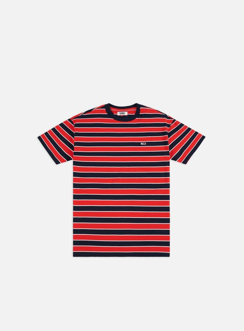 Sale Outlet Short Sleeve T-shirts Tommy Hilfiger TJ Bold Stripe T-shirt