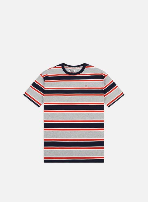 Sale Outlet Short Sleeve T-shirts Tommy Hilfiger TJ Bold Stripe T-shirt