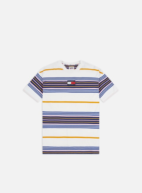 Tommy Hilfiger TJ Center Badge Stripe T-shirt