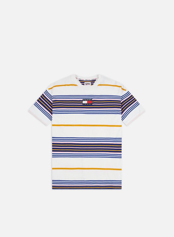 Tommy Hilfiger TJ Center Badge Stripe T-shirt