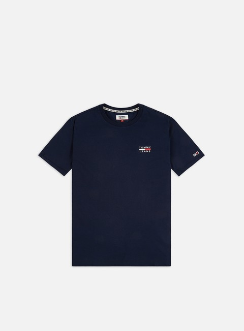 Outlet e Saldi T-shirt a Manica Corta Tommy Hilfiger TJ Chest Logo T-shirt
