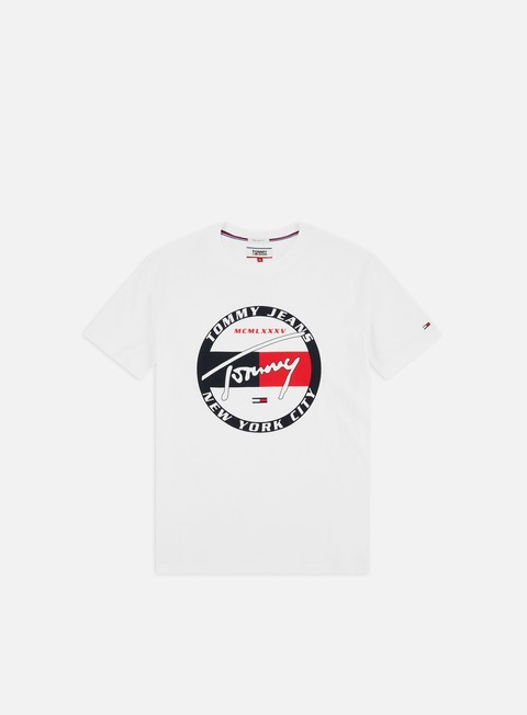 Sale Outlet Short Sleeve T-shirts Tommy Hilfiger TJ Circle Graphic T-shirt
