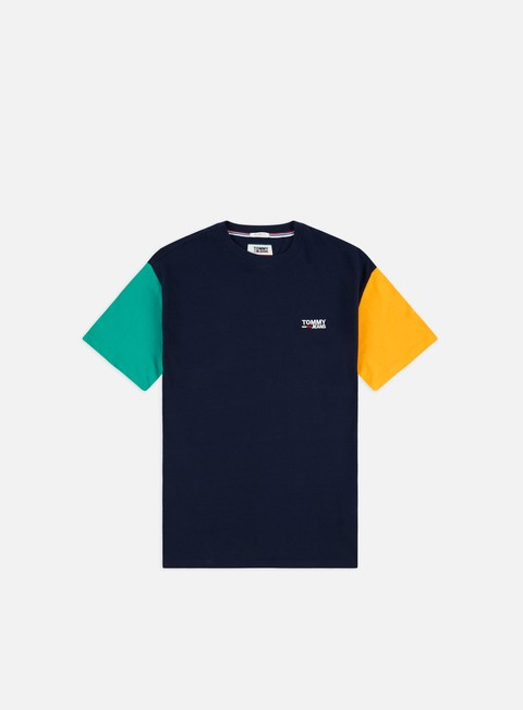 Outlet e Saldi T-shirt a Manica Corta Tommy Hilfiger TJ Color Block T-shirt