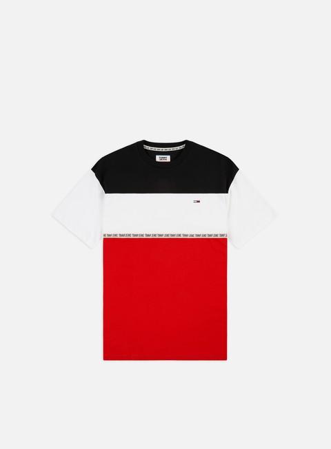 T-shirt a Manica Corta Tommy Hilfiger TJ Colorblocked Tape T-shirt