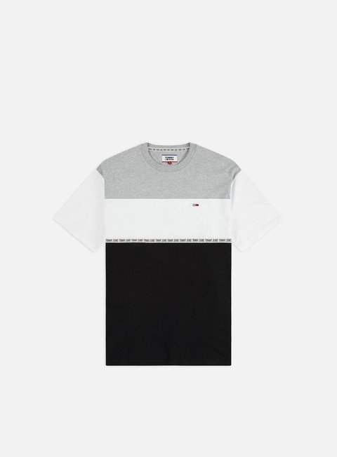 Sale Outlet Short Sleeve T-shirts Tommy Hilfiger TJ Colorblocked Tape T-shirt